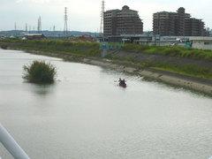 カヌー遊び